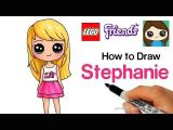 Descendants 2 Easy Drawings How to Draw Lego Friends Stephanie Youtube Cute Drawing In 2019