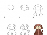 Directed Drawing Dogs Learn How to Draw A Dog with Our Free and Fun Activity Sheets Your