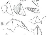 Directed Drawing Dragons How to Draw Folded Dragon Wings Wing Study by Vibrantechoes Draw