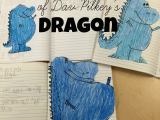 Directed Drawing Dragons Teaching In Stripes Directed Drawing Dav Pilkey S Dragon Dav