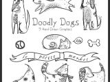 Dog S Mouth Drawing Doodly Cute Dog Clipart Dog Illustration Hand Drawn Dog Clipart