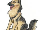 Dog Up Drawing Happy German Shepherd by Wildspiritwolf On Deviantart Art