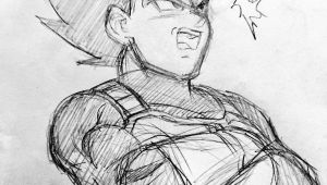 Dragon Ball Z Drawing Ideas Vegeta Sketch Visit now for 3d Dragon Ball Z Compression Shirts