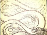 Dragon S Lair Drawing Chinese Dragon Sketch by Primeval Wings Art Inspiration
