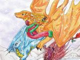 Dragons Flying Drawing Christmas Flight by Chibimieze Dragons Pinterest Dragon