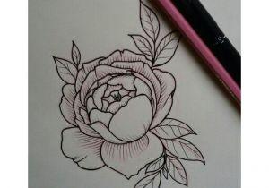Draw An English Rose English Rose Tattoo Sketch Vanessa Core Tattoos Pinterest