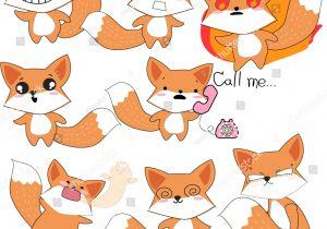 Draw Baby Wolf Cartoon Emoji Sticker Cartoon Comiccute Happy Smile Stock Vector Royalty