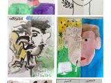 Draw On Your Head Game Ideas Dual Self Portraits In Art therapy Art therapy Activities