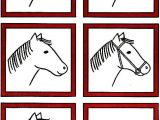 Draw On Your Head Game Ideas Horse Head Drawing Lessons for Kids Drawing Lessons