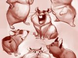 Drawing 2d Characters Artstation Hamsters Ester Conceicao 2d Character Concept In