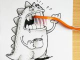 Drawing 3d Objects Cute Dragon Doodles Interact 3d Objects Drogo Manik Ratan 4