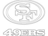 Drawing 49ers Logo San Francisco 49ers Logo Coloring Page From Nfl Category Select