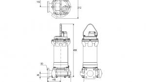 Drawing 5.1 Grundfos Pumpe Dpk 10 80 22 5 0d 96884112