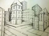 Drawing 5 Point Perspective 2 Point Perspective City Art Point Perspective Perspective