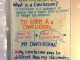 Drawing 5th Class Drawing Conclusions Day 1 the Creative Apple Anchor Charts for