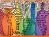 Drawing 5th Class Overlapping Bottles to Create the Color Spectrum 5th Grade Review