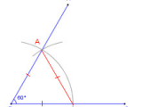Drawing 60 Degree Angle How to Construct A 60 Degree Angle with Compass and Straightedge or