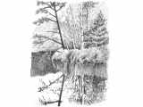 Drawing 6b Pencil 6 Ways to Spruce Up Your Landscape Pencil Drawings Drawings