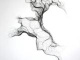 Drawing 6b Pencil Susie Macmurray Gauze Bandage No 5 2011 Pen Drawing Textiles