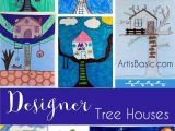 Drawing 6th Class Designer Tree Houses Art Pinterest Art Lessons Elementary Art