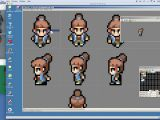 Drawing 8 Bit Characters Pixel Art Timelapse Chibi Character Animation In 4 Directions