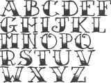 Drawing 8 Letters Images for How to Draw Cool Letters A Z Sewing Stuff Pinterest