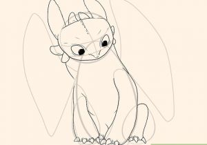 Drawing 9 Year Old How to Draw toothless with Pictures Wikihow