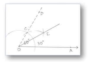 Drawing 90 Degree Angle with Compass Construction Of Angles by Using Compass Construction Of Angles