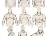 Drawing A Anime Body How to Draw the Human Body Study Male Body Types Comic Manga