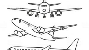 Drawing A Cartoon Airplane Airplane Hand Drawn Line Drawing Vector Illustration Cartoon Stock