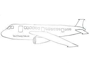 Drawing A Cartoon Airplane Cartoon Plane Drawing Foxytoon Co