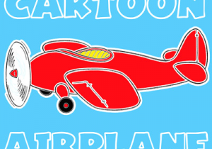 Drawing A Cartoon Airplane How to Draw A Cartoon Airplane with Easy Step by Step Drawing