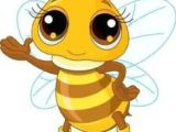 Drawing A Cartoon Bee 60 Best Cartoon Bee Images In 2019 Bees Ladybug Painting On Fabric