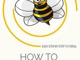 Drawing A Cartoon Bee How to Draw A Cartoon Bee Drawings Drawings Drawing Tutorials