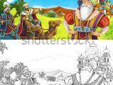 Drawing A Cartoon Cowboy Cartoon Scene Happy King Od Prince Stockillustration 1016129179