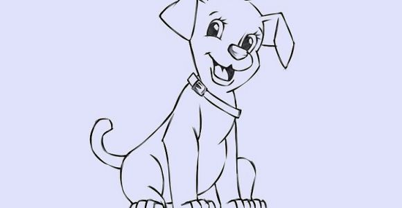 Drawing A Cartoon Dog Step by Step 6 Easy Ways to Draw A Cartoon Dog with Pictures Wikihow