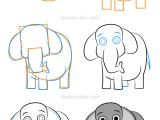 Drawing A Cartoon Elephant Step by Step How to Draw An Elephant Comment Dessiner Un Elephant U O O C