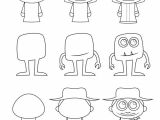 Drawing A Cartoon Figure How to Draw Cartoon Characters How to Draw Drawings Cartoon