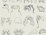 Drawing A Cartoon Hair This Anime Hair Reference Sheet by Ryky is All You Need to Get Those