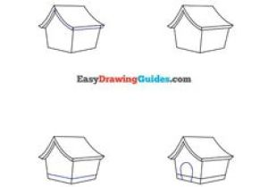 Drawing A Cartoon House 125 Best Drawing Step by Step Tutorials Images Art for Kids Easy