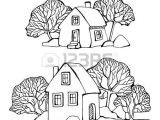 Drawing A Cartoon House Cartoon Hand Drawing City Photo N D N N D Dod Pinterest Hand