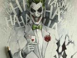 Drawing A Cartoon Joker Joker Drawing Joker Batman Joker Art Joker