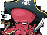 Drawing A Cartoon Octopus Octopus Pirate the Art Of Funky Octopus Drawings Pirates