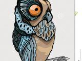 Drawing A Cartoon Owl Cartoon Owl Royalty Free Stock Photo Image 33300375 Malarstwo
