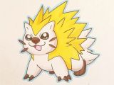 Drawing A Cartoon Porcupine No Data Available Nmwfakedex Pokemon Fakemon Art Drawing