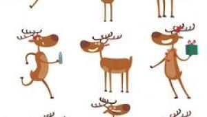 Drawing A Cartoon Reindeer 30 Best Deer Cartoon Images Geometric Animal Geometric Art Art