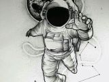 Drawing A Cartoon Rocket Instagram is Frxncis Spaced Out Tattoos astronaut Tattoo