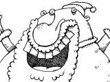 Drawing A Cartoon Santa 001097 Christmas Cartoon Santa Xmas Funny Silly Breadwig Com Shai