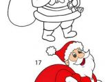 Drawing A Cartoon Santa Draw Santa Claus School Art Christmas Art Projects Christmas