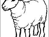 Drawing A Cartoon Sheep Sheep Coloring Page Ideas Sheep Coloring Pages Animal Coloring